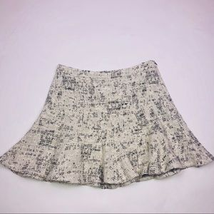 Derek Lam 10 Crosby Tweed Skirt